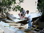 Masonry Renovation Tiling DIOMEDE bay of Saint-Tropez