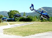 HELISECURITE heliport grimaud transport by helicopter